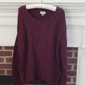 Old Navy sweater,  size XL
